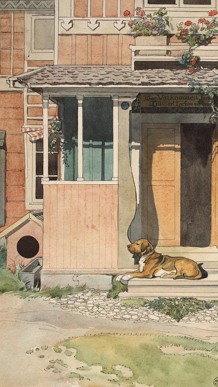 Carl Larsson - Veranda 1080x1920