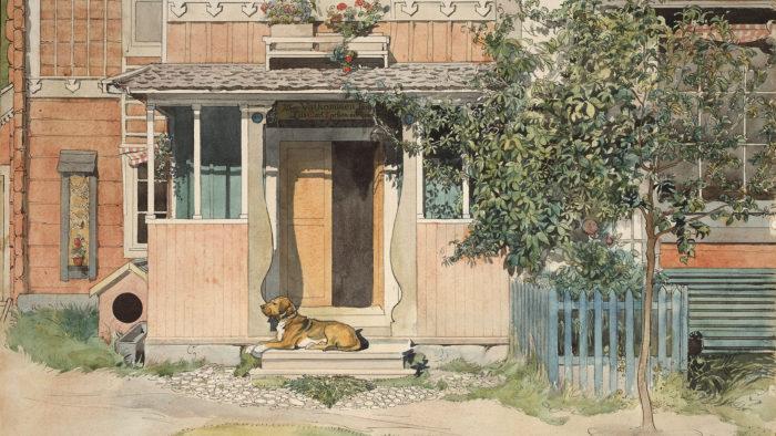 Carl Larsson - Veranda 1920x1080