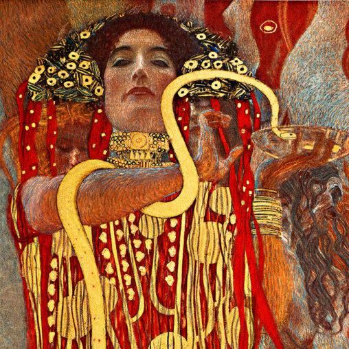 Gustav Klimt - Hygieia d