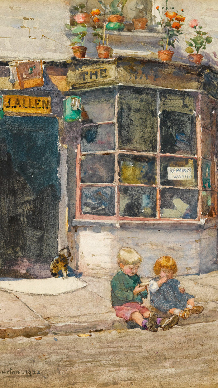 Rose Maynard Barton - Cobbler's shop in Lancelot Place, Knightsbridge 1080x1920