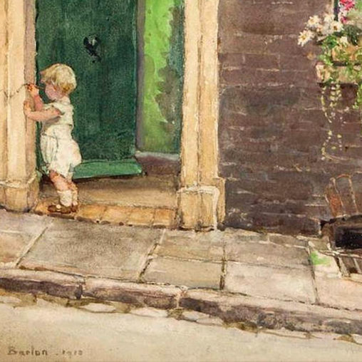 Rose Maynard Barton - The Doorway d