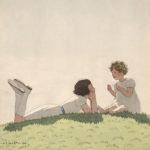 アンドレ・エドゥアール・マルティ / Sisters Talking on Hill
