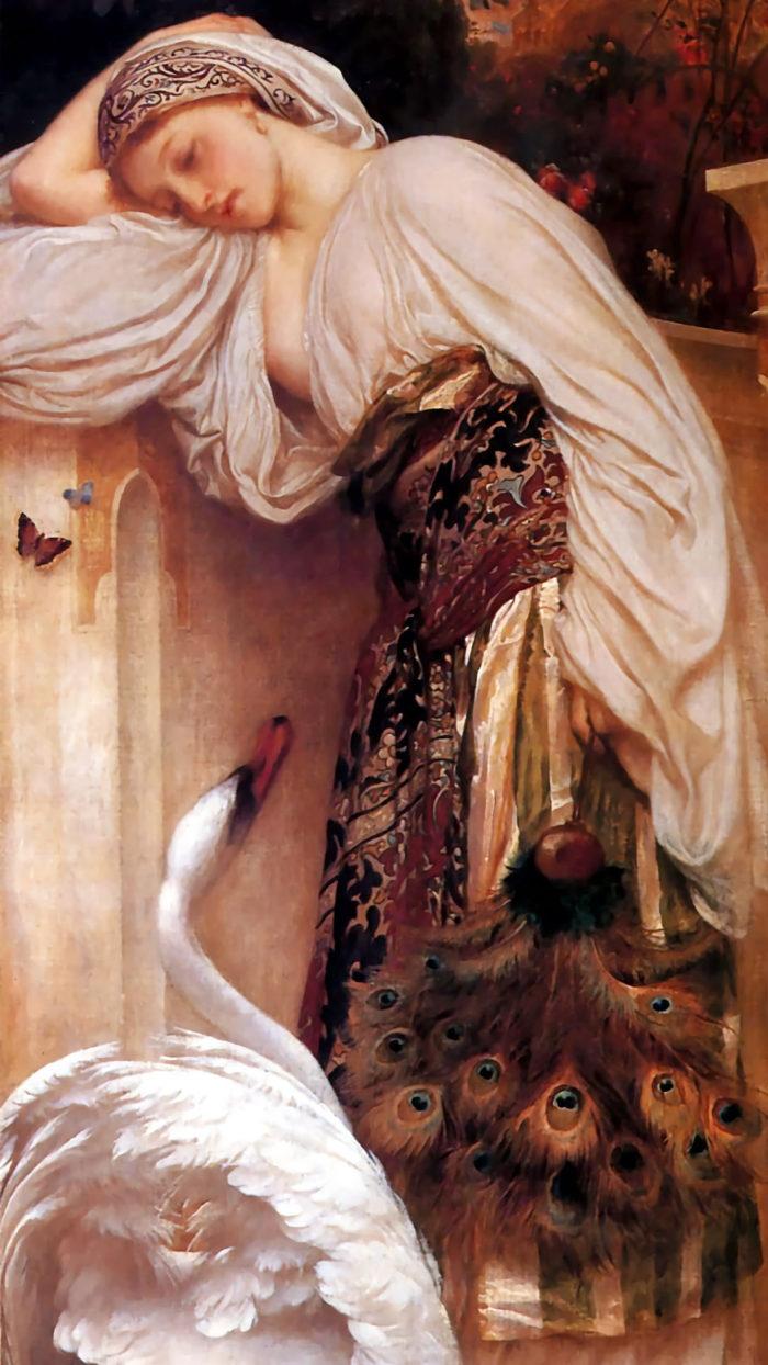 Frederick Leighton - Odalisque 1080x1920