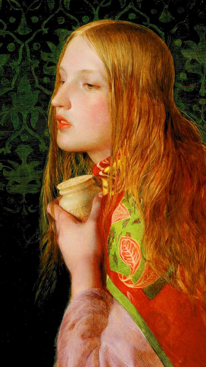 Frederick Sandys - Mary Magdalene 1080x1920