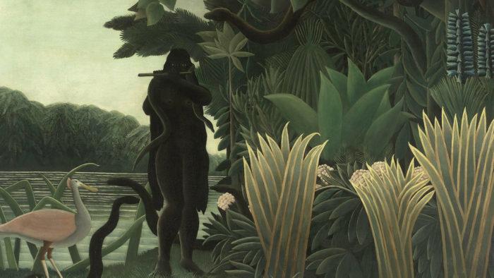 Henri Rousseau - La Encantadora de Serpientes 1920x1080