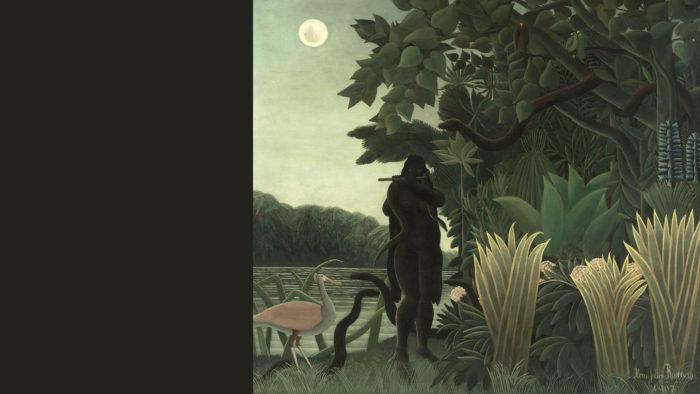 Henri Rousseau - La Encantadora de Serpientes 2 1920x1080