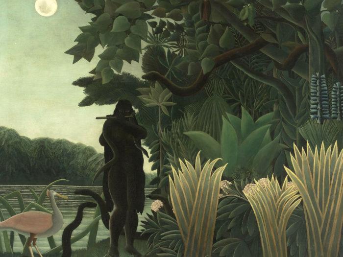 Henri Rousseau - La Encantadora de Serpientes 2732x2048