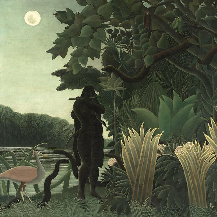 Henri Rousseau - La Encantadora de Serpientes d