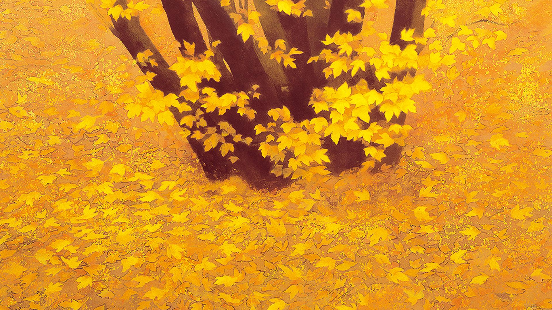東山魁夷 行く秋 壁紙ギャラリー Kagirohi