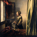 ヨハネス・フェルメール / Brieflezend meisje bij het venster