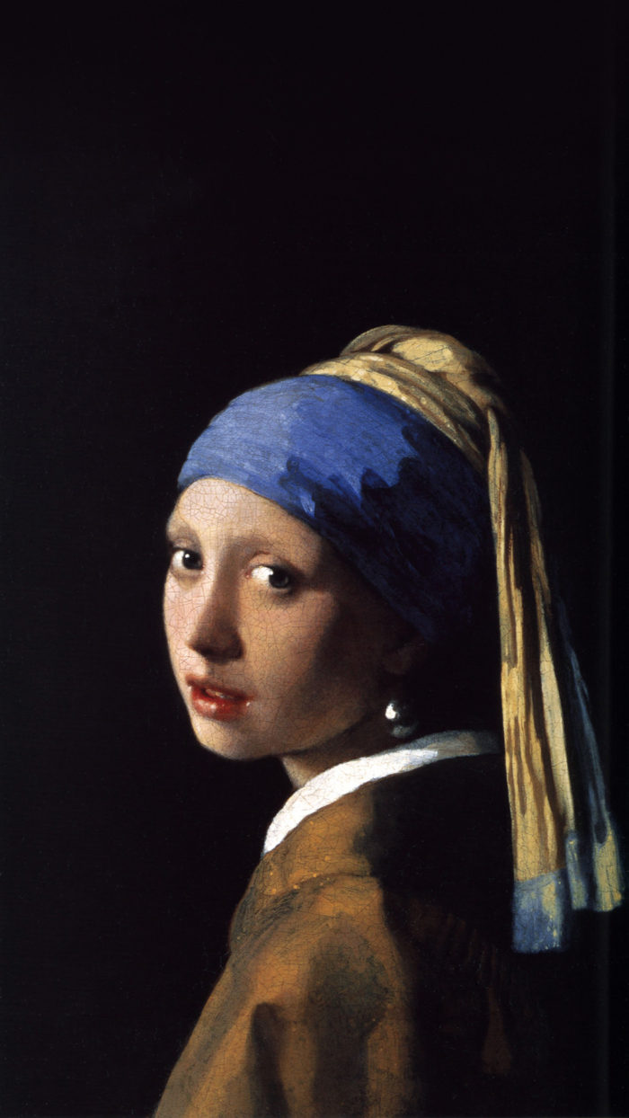 Johannes Vermeer - The Girl With The Pearl Earring 1080x1920