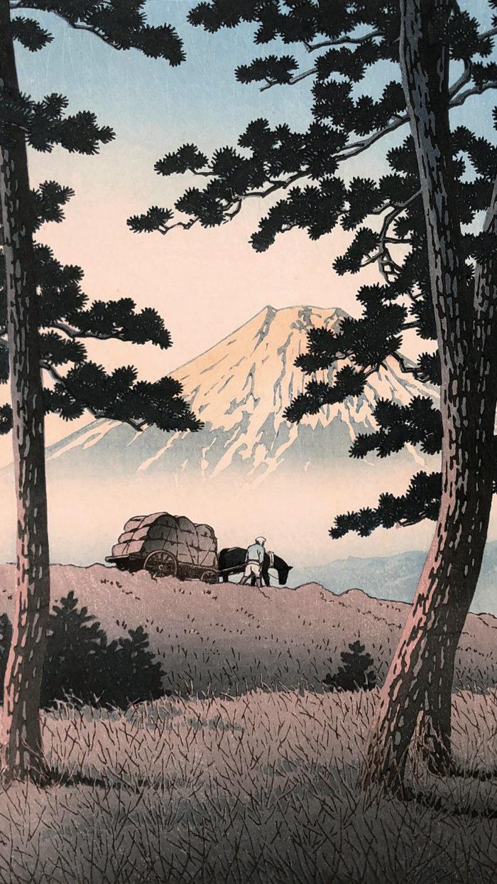 Kawase Hasui - Tagonoura no yu 1080x1920