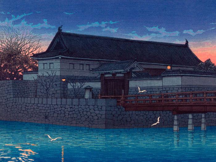 Kawase Hasui- Tokyo20kei hirakawa mon 2732x2048