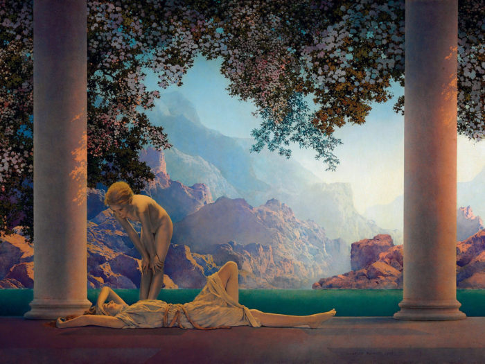 Maxfield Parrish - Daybreak 2732x2048