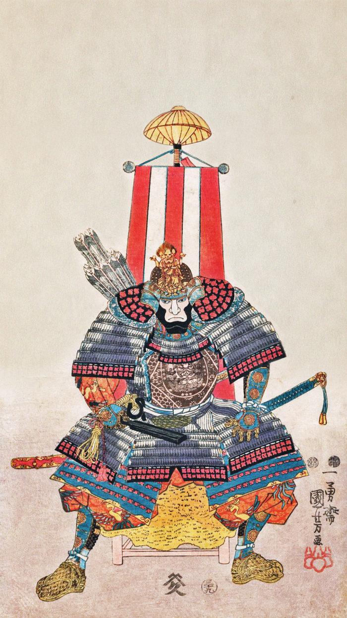 Utagawa Kuniyoshi - Oda nobutaka 2 1080x1920