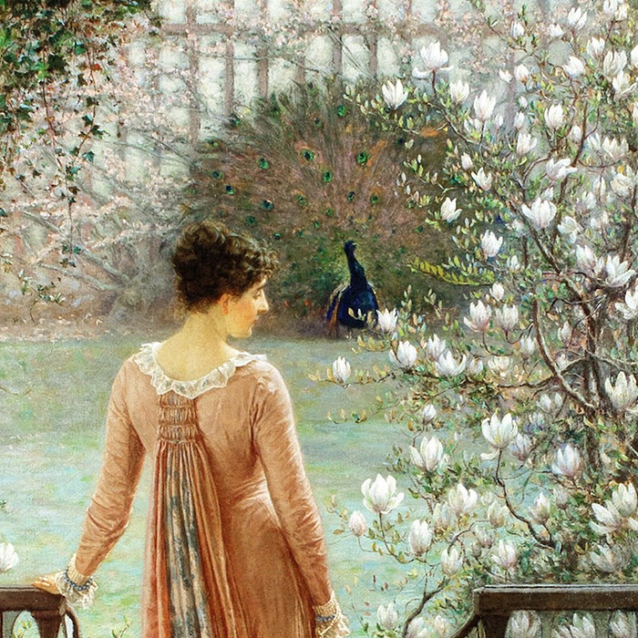 William John Hennessy - Spring fantasy d