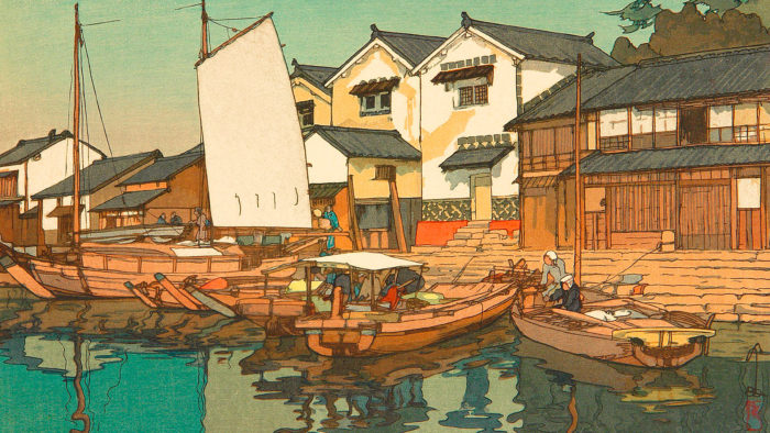 Yoshida Hiroshi - Setonaikai kura 1920x1080