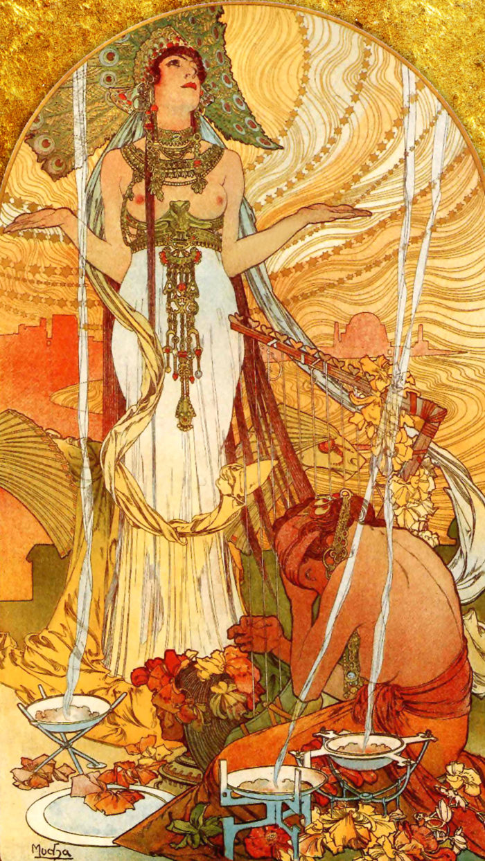 Alfons Mucha - Salammbô 1080x1920