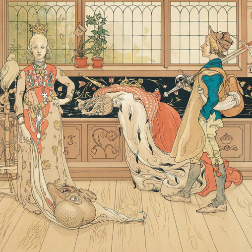 Carl Larsson - St. George and the Princess d