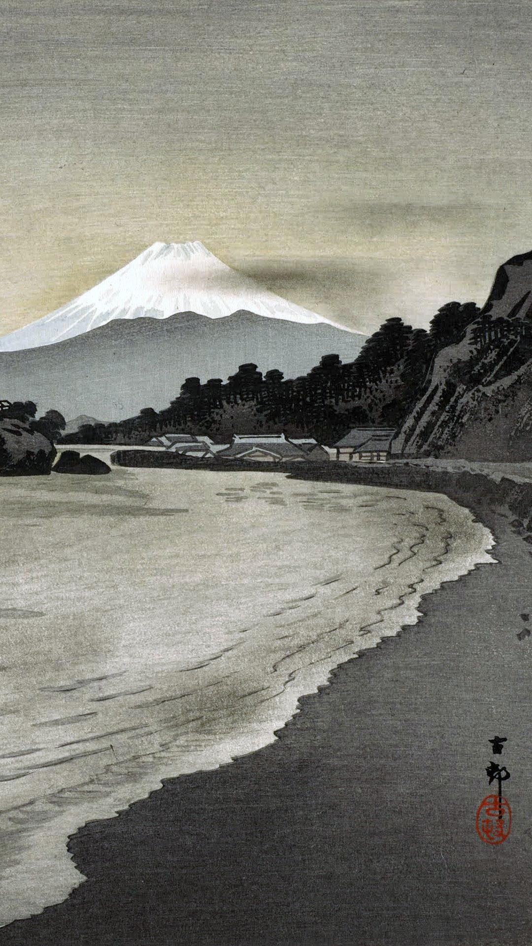 Ohara Koson - Nishi izu no hokakubune 1080x1920