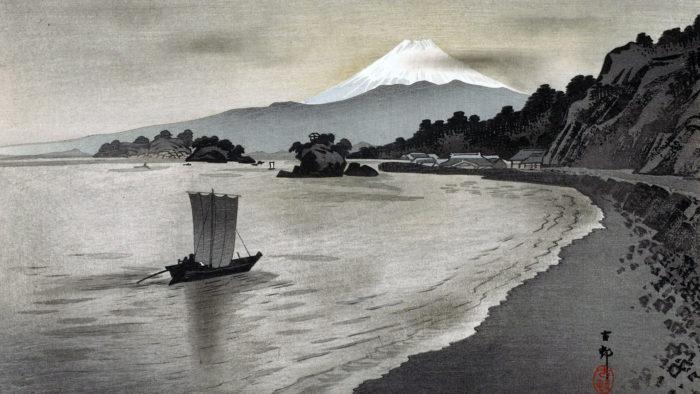 Ohara Koson - Nishi izu no hokakubune 1920x1080