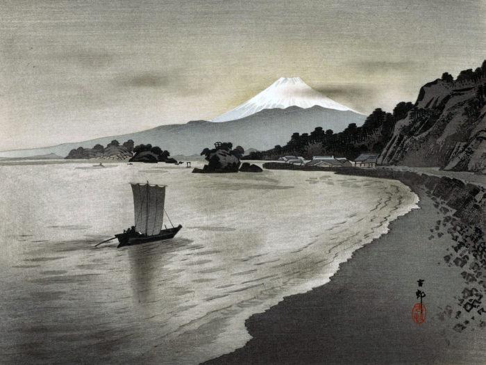 Ohara Koson - Nishi izu no hokakubune 2732x2048