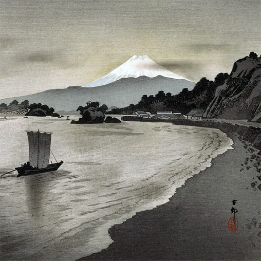 Ohara Koson - Nishi izu no hokakubune d