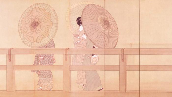 Shimomura Kanzan - Shun u zu byobu 1920x1080