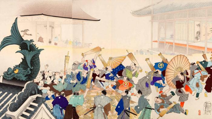 Yousyu Chikanobu - Gotairei nosetsu chonin ono haiken 1920x1080