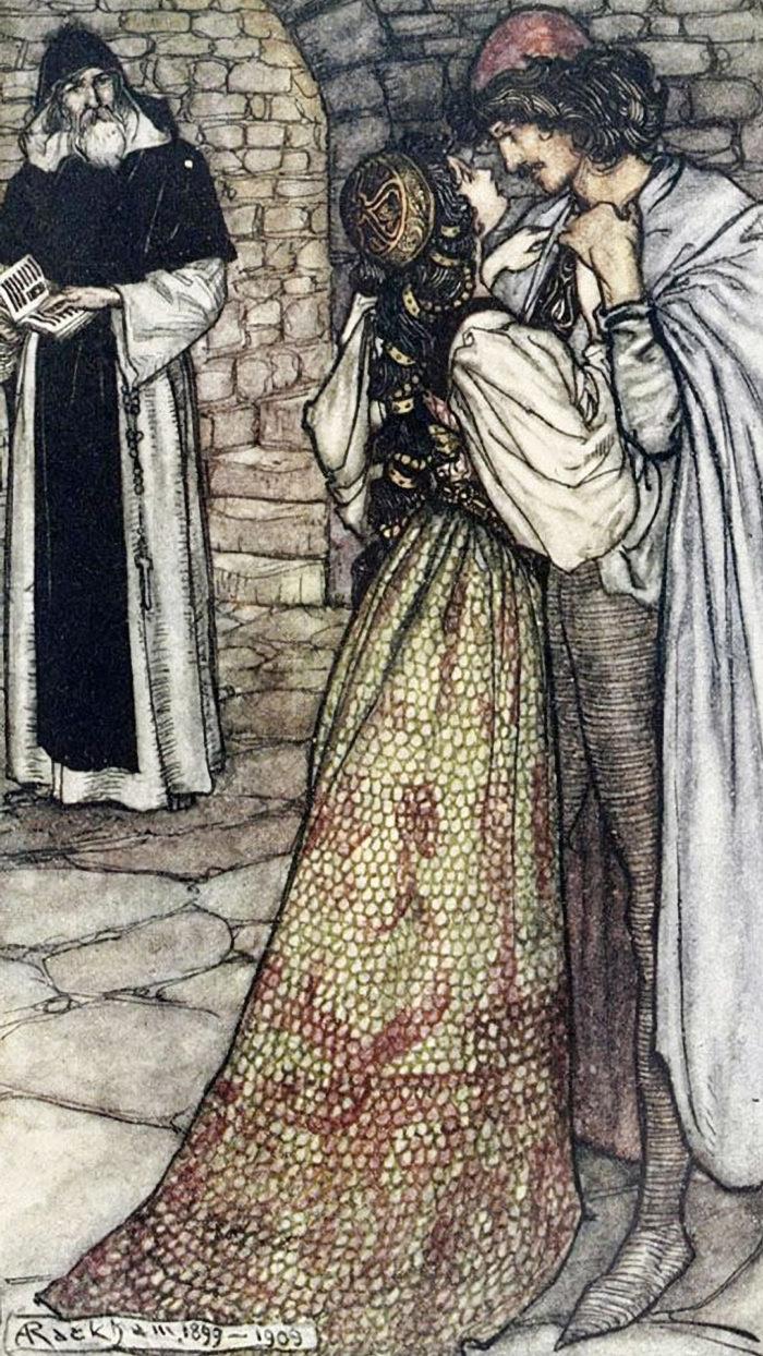 Arthur Rackham - Romeo and Juliet 1080x1920