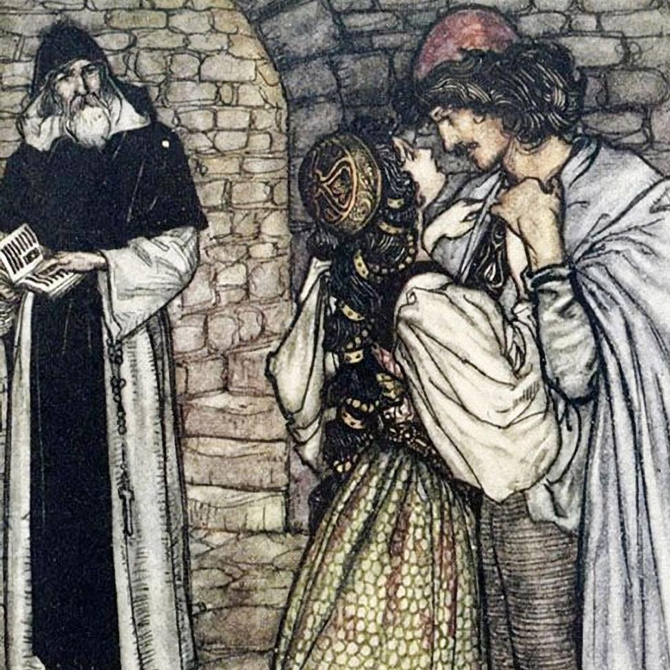 Arthur Rackham - Romeo and Juliet d