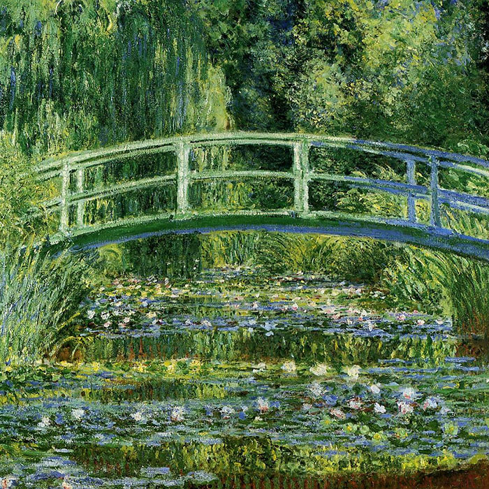 Claude monet - Water Lilies and Japanese Bridge d
