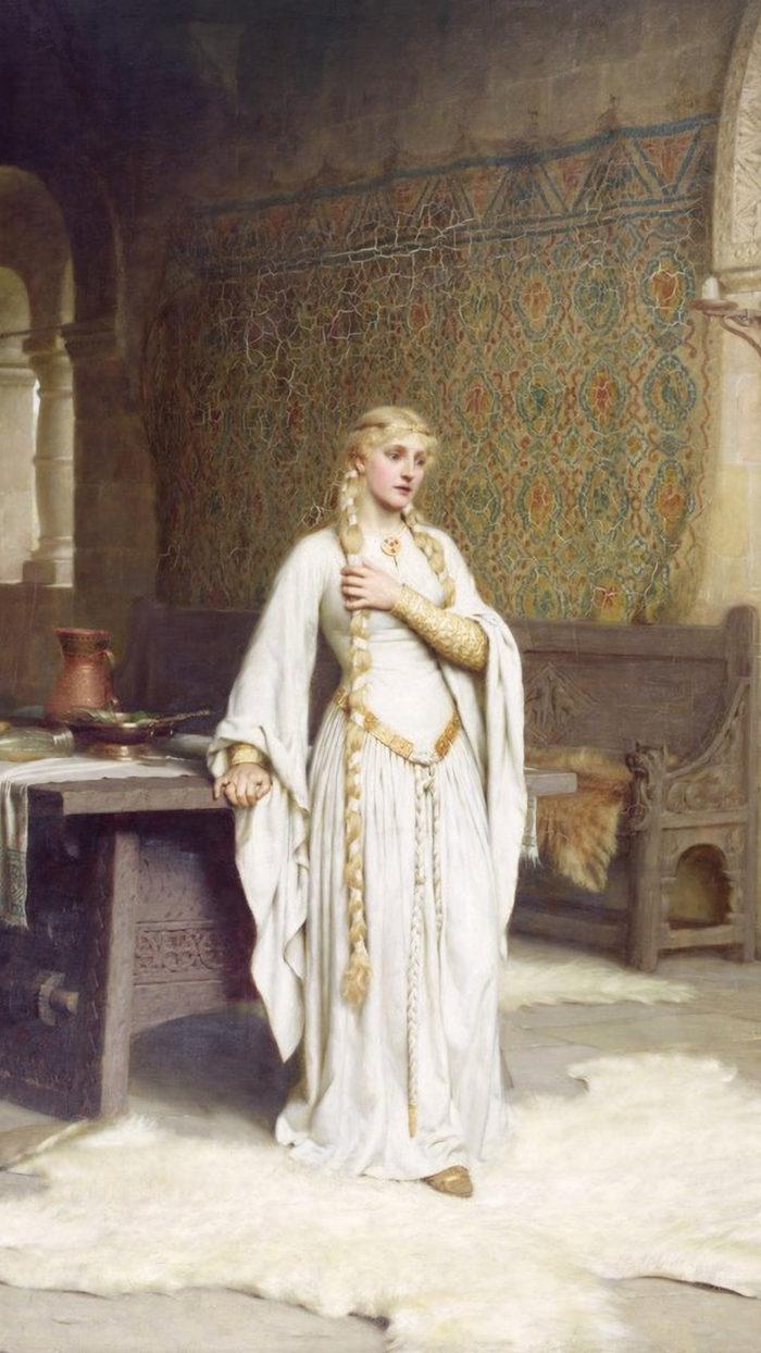 Edmund Blair Leighton - Lady Godiva 1080x1920