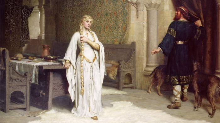 Edmund Blair Leighton - Lady Godiva 1920x1080