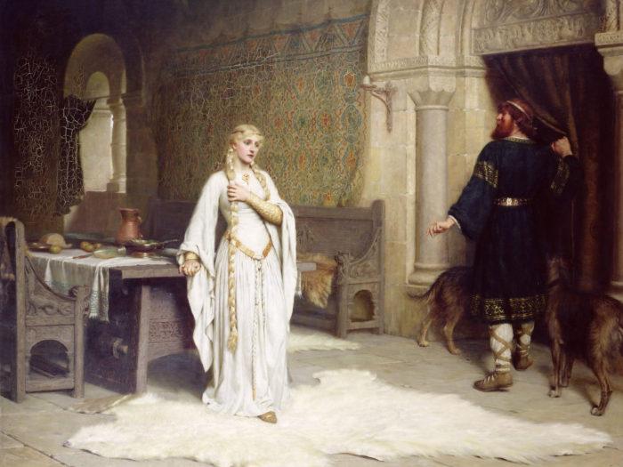 Edmund Blair Leighton - Lady Godiva 2732x2048