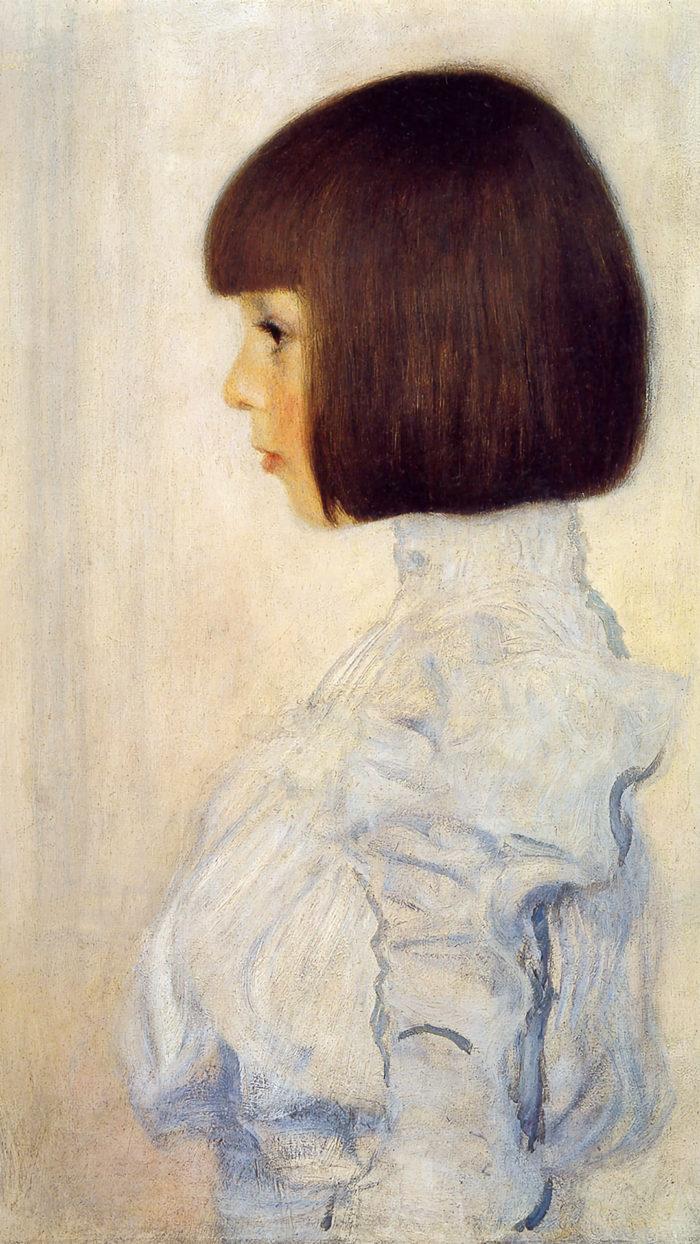 Gustav Klimt - Portrait of Helene Klimt 1080x1920