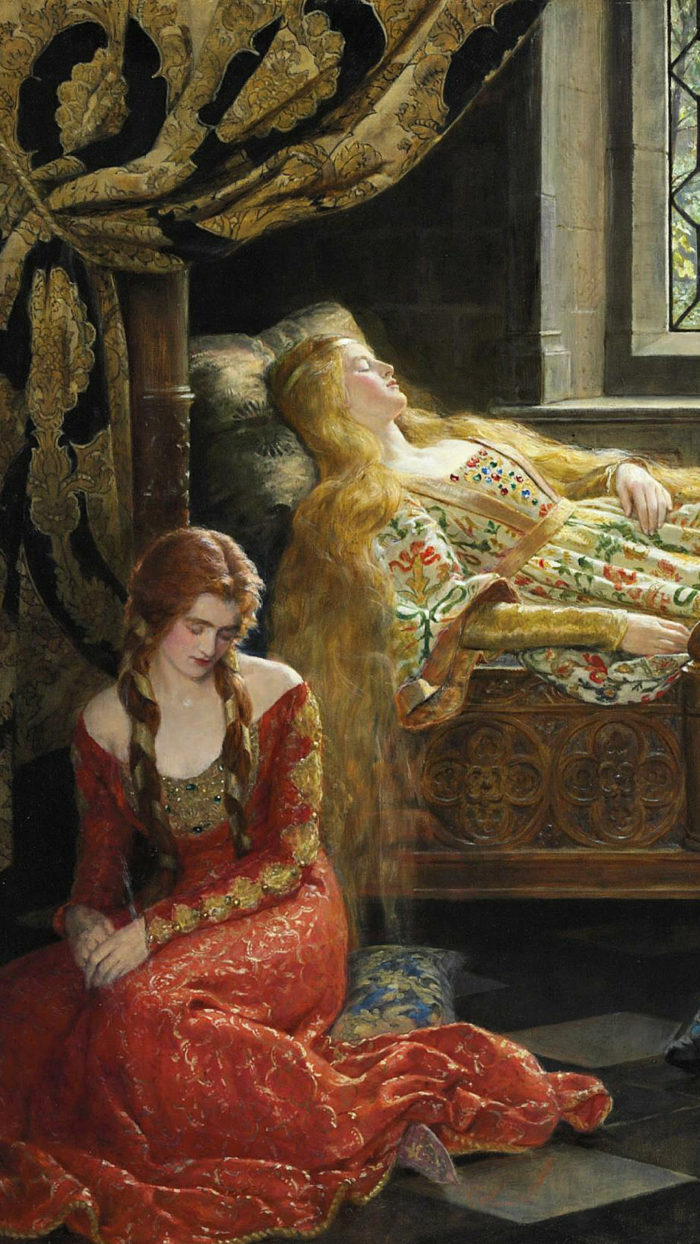 John Collier - Sleeping_Beauty 1080x1920