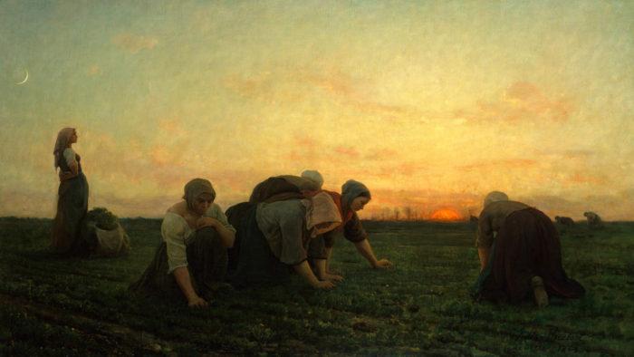 Jules Breton - The Weeders 1920x1080