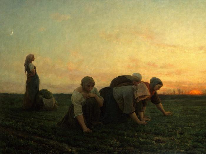 Jules Breton - The Weeders 2732x2048