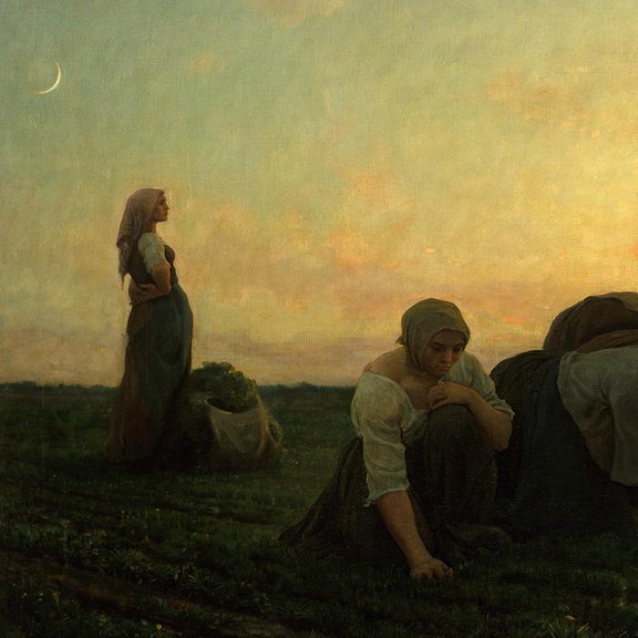 Jules Breton - The Weeders d