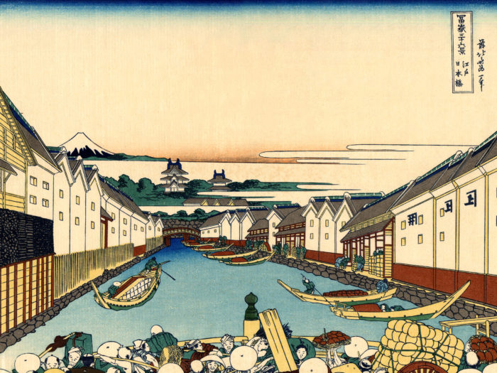 Katsushika Hokusai - 36 Edo Nihonbashi 2732x2048