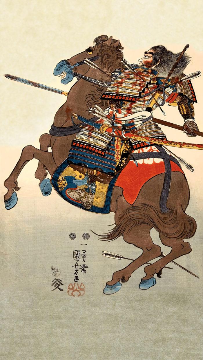 Utagawa KUniyoshi - Gousatosaemon hisamitsu 1080x1920 2