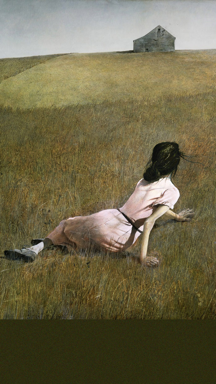 Andrew Wyeth Christina's World 1080x1920