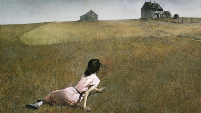Andrew Wyeth - Christina's World 1920x1080