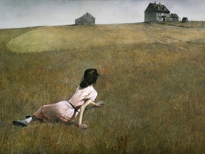 Andrew Wyeth Christina's World 2732x2048