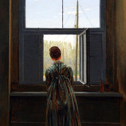 Caspar David Friedrich - Woman at a Window d
