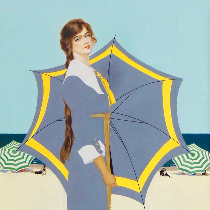 Coles Phillips - Fade away Girl d