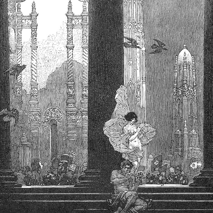 Franklin Booth - The Flutes d