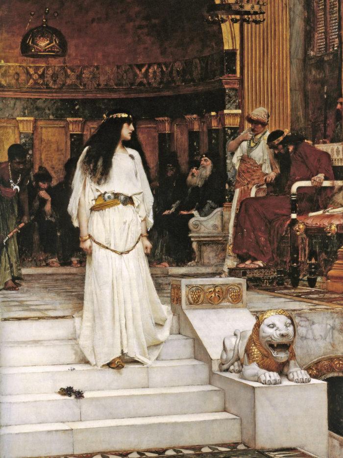John William Waterhouse - Mariamne Leaving the Judgement Seat of Herod 2048x2732