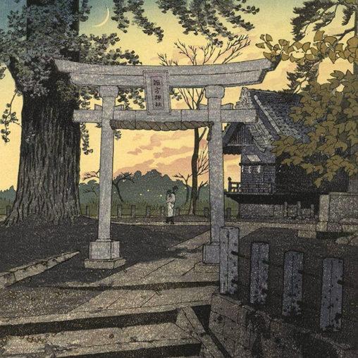 Kasamatsu Shiro - Yuzora nippori suwa jinja d